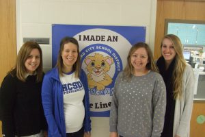 Occupational Therapist: Mrs. Wagner, Mrs. Rawlins, Mrs. Buckley, and Miss. Roy