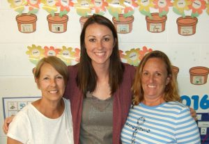 Voigt Team: Mrs. Sluka, Mrs. Voigt, and Mrs. Wawrzyniak