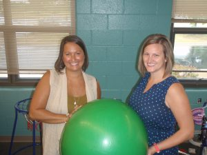 Physical Therapists: Mrs. Ludban and Dr. Miller