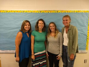 Occupational Therapy: Mrs. Wagner, Mrs. Rawlins, Mrs. Smith, & Mrs. Jacobs