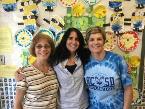 Bortz Team: Mrs. Afflitto, Mrs. Bortz, Mrs. Rose
