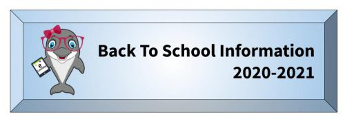Back To School Info 2020-2021